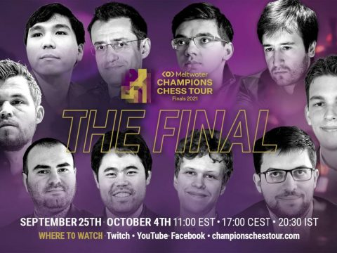 Champions Chess Tour Final odds