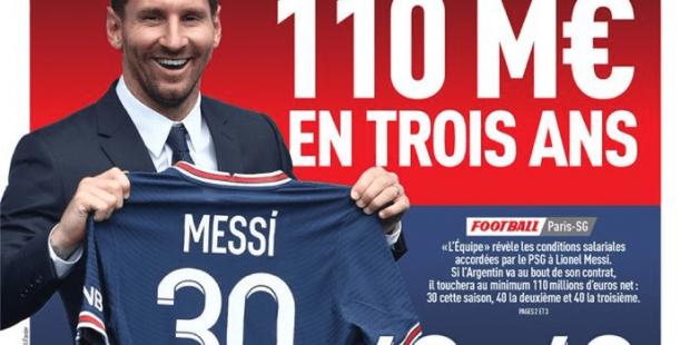 Messi salary L