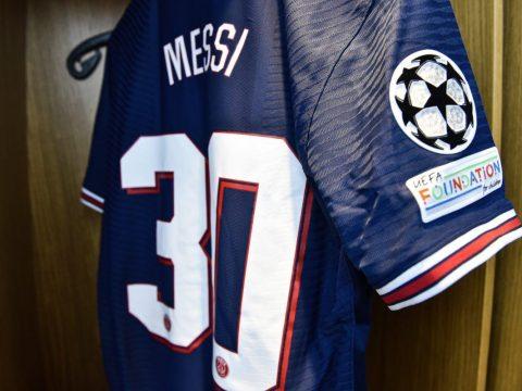 Messi PSG shirt