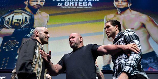 Volkanovski Ortega odds UFC 266