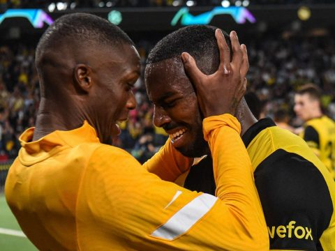 Young Boys beat Manchester United