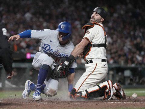 Dodgers Giants odds NLDS